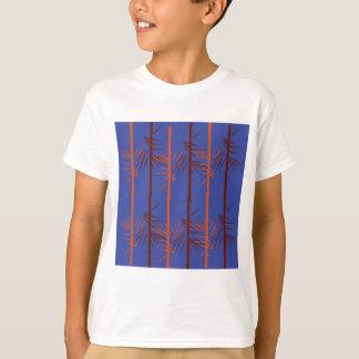 Design bamboo blue T-Shirt