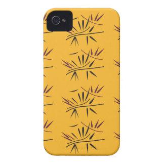 Design bamboo Gold Eco Case-Mate iPhone 4 Case
