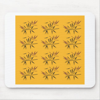 Design bamboo Gold Eco Mouse Pad