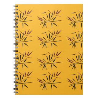 Design bamboo Gold Eco Notebooks