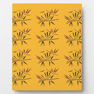 Design bamboo Gold Eco Plaque
