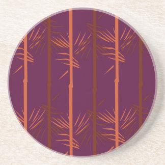 Design bamboo wine edition ethno coaster
