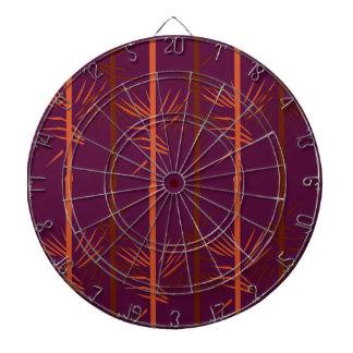 Design bamboo wine edition ethno dartboard