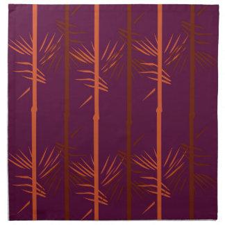 Design bamboo wine edition ethno napkin
