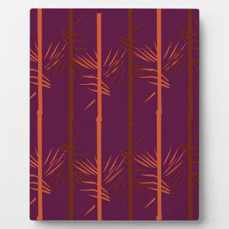Design bamboo wine edition ethno plaque