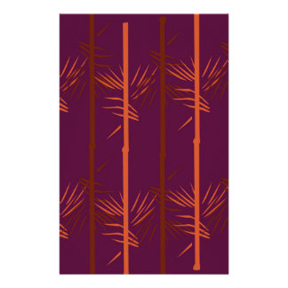 Design bamboo wine edition ethno stationery