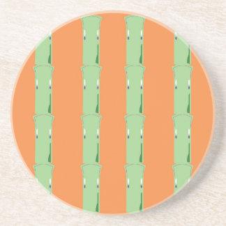 Design bamboos ethno coaster