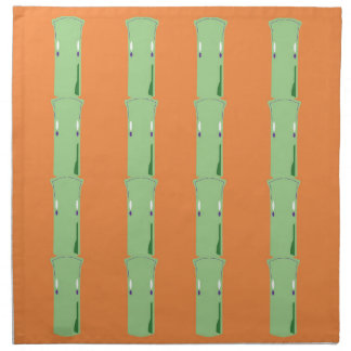 Design bamboos ethno napkin