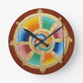 Design bell Wheel or life Round Clock