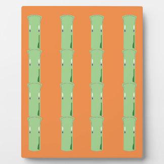 Design bio bamboo elements plaque