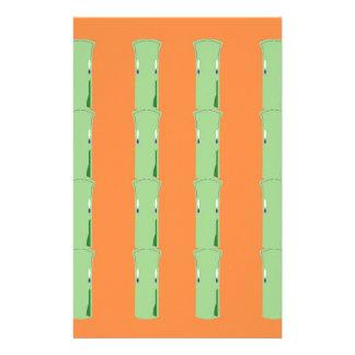 Design bio bamboo elements stationery