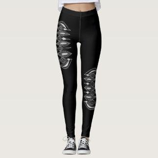 Design Black Leggings