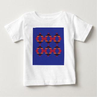 Design blocks blue Ethnic Baby T-Shirt