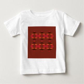Design Blocks ethnic Chocolate Baby T-Shirt