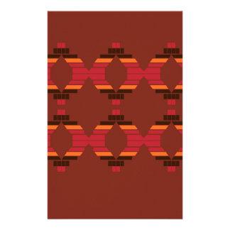 Design Blocks ethnic Chocolate Stationery