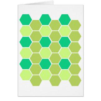Design blocks green eco card