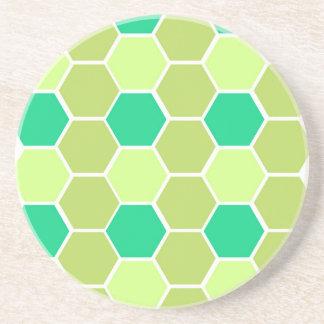 Design blocks green eco coaster