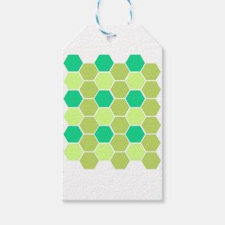 Design blocks green eco gift tags