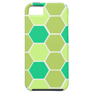 Design blocks green eco iPhone 5 case