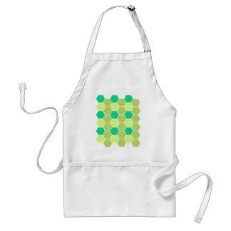 Design blocks green eco standard apron