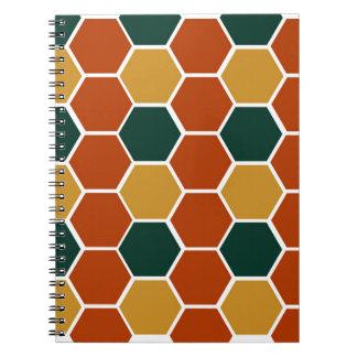 Design blocks Honey Notebook