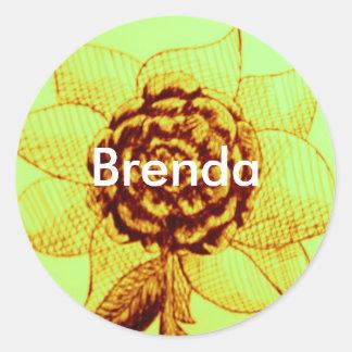 design, Brenda stickers