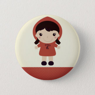 Design button : red riding hood