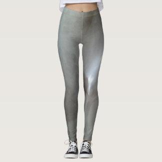 DESIGN BY FRANK MOTHE.  Leggings. GREY X-RAY Leggings