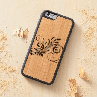 design carved cherry iPhone 6 bumper case