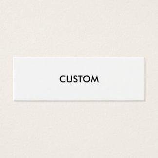 Design Custom Customize Blank Mini Business Card
