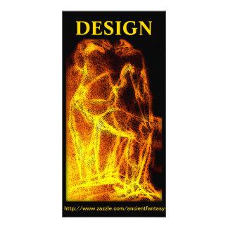 """DESIGN"" Custom Fine Art Photocard Photo Card"