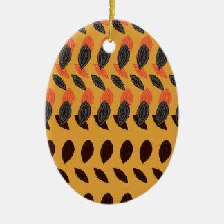 Design eco beans ceramic ornament