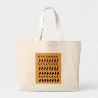 Design eco beans large tote bag