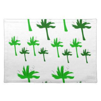 Design eco bio palms placemat