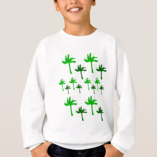 Design eco bio palms sweatshirt