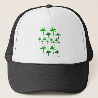 Design eco bio palms trucker hat
