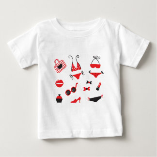 Design edition with SUMMER VINTAGE ICONS Baby T-Shirt