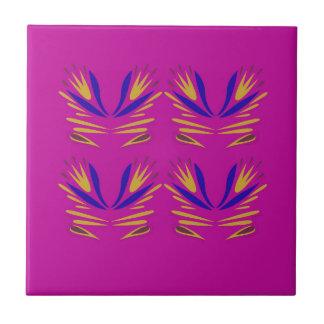 Design elemements  Folk ethno Pink Tile