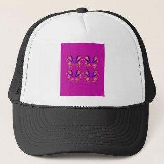 Design elemements  Folk ethno Pink Trucker Hat