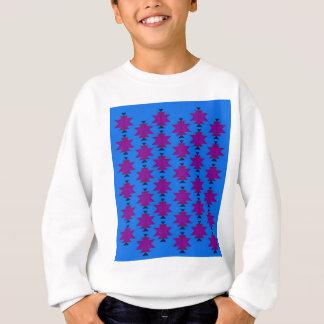 Design elements aztecs blue sweatshirt