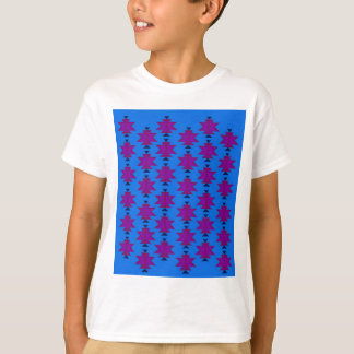Design elements aztecs blue T-Shirt