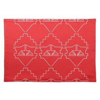 Design elements aztecs old look placemat