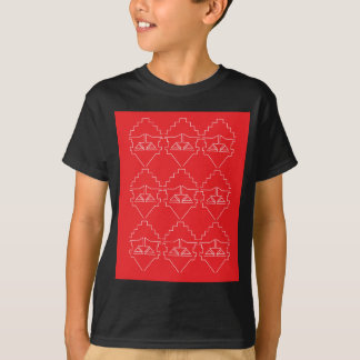Design elements aztecs old look T-Shirt