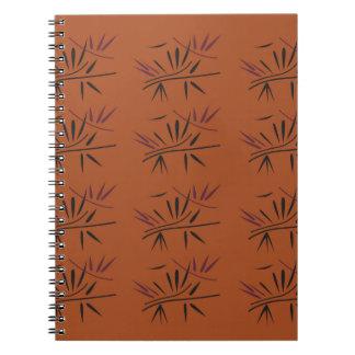 Design elements Bamboo Ethno ECO Notebooks