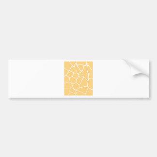 Design elements beige bumper sticker