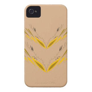 Design elements beige gold Case-Mate iPhone 4 cases