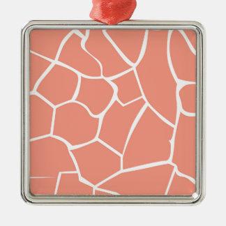 Design elements beige honey metal ornament