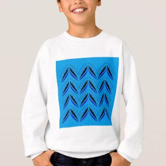 Design elements blue ethno sweatshirt