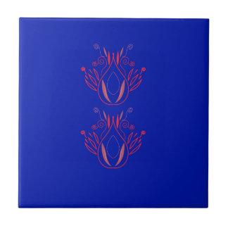 Design elements blue  Folk Tile