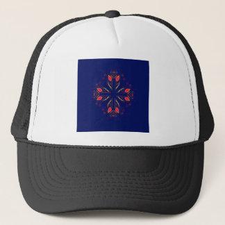 Design elements blue  FOLK Trucker Hat